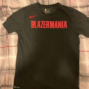Black Nike Dri-FIT BLAZERMANIA TEE
